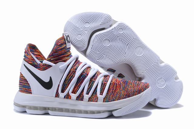 Nike KD 10 Shoes White Colors